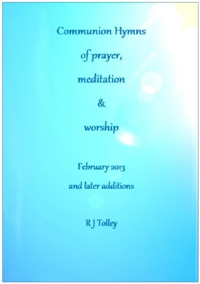 A selection of hymns for Communion