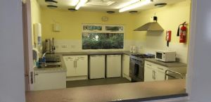 Church hall kitchen