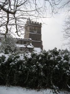 st pauls in snow