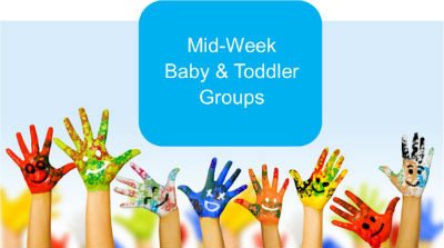 Midweek Baby and toddler groups main page