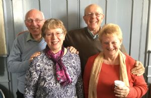 Ted, Sue, Carole, Peter