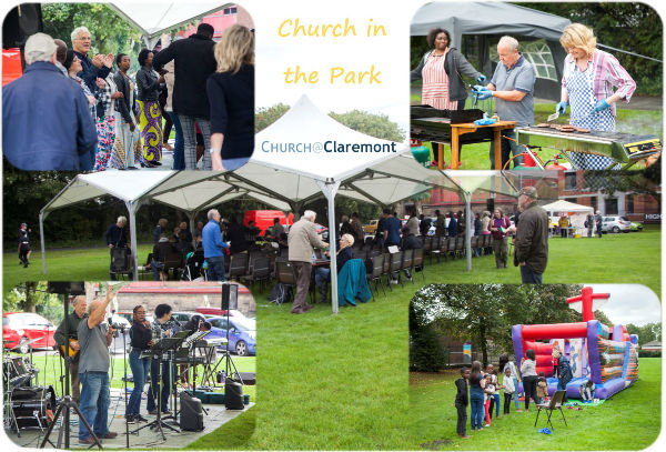 Church in the Park collage