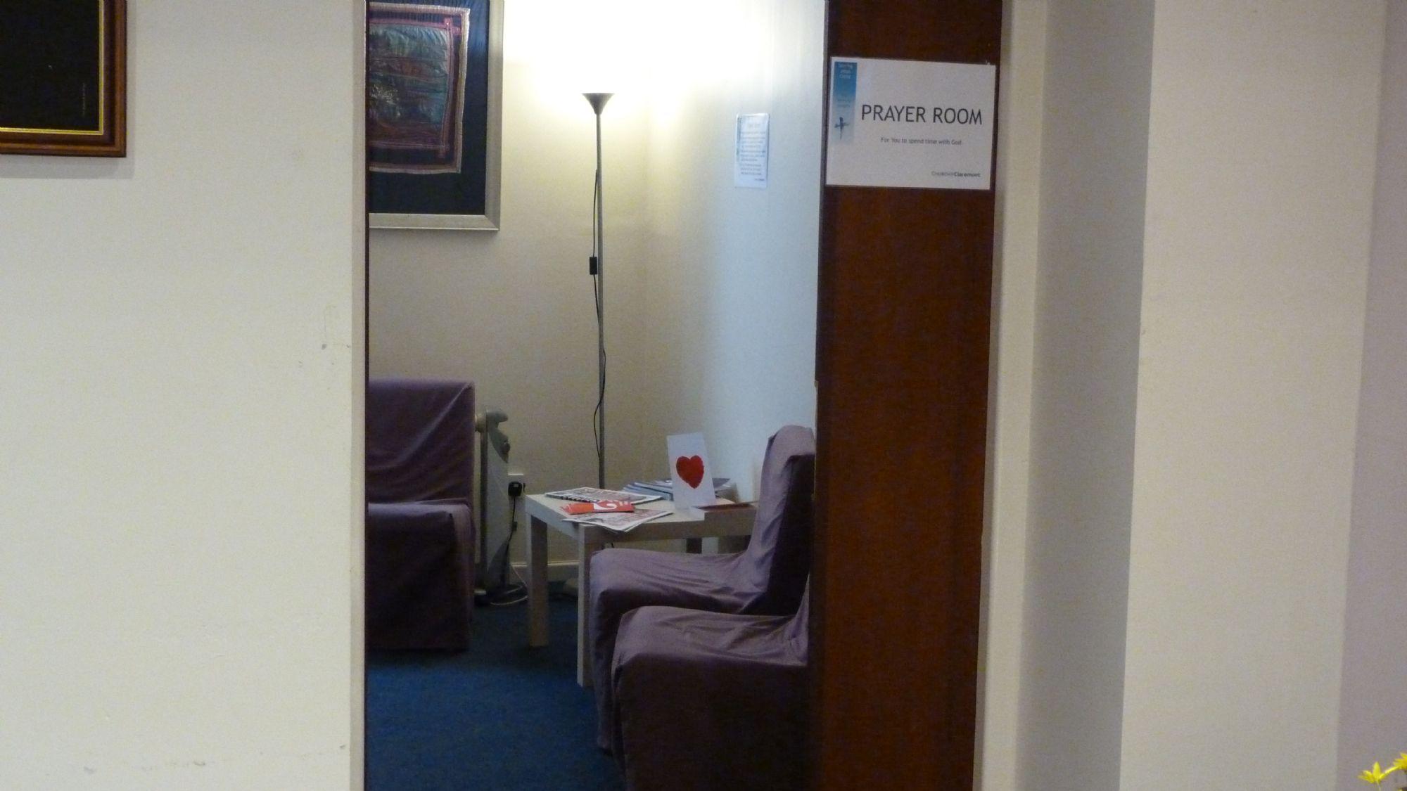 Claremont Prayer Room