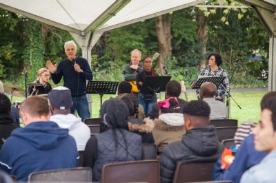 Preaching in the Park