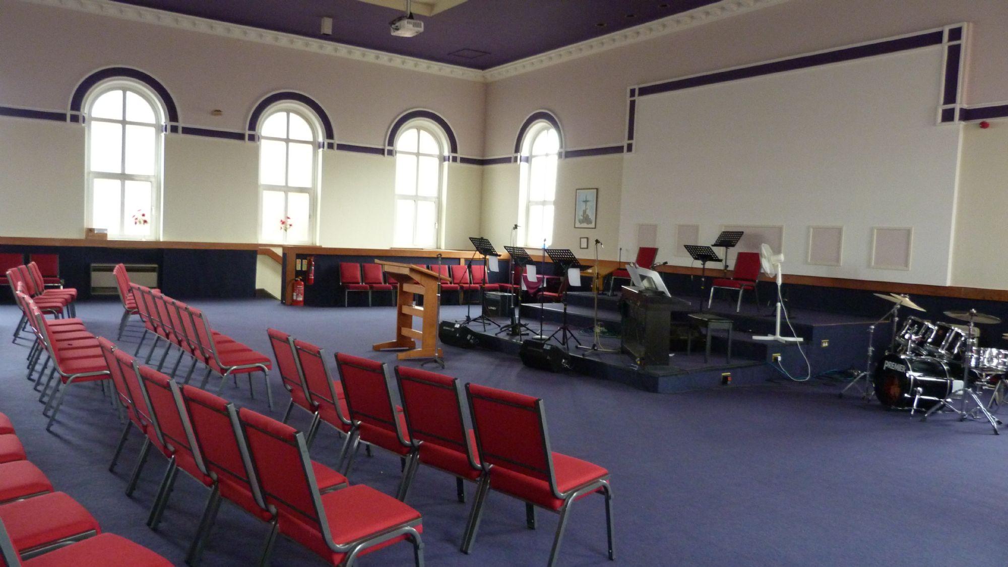 Main hall FOH