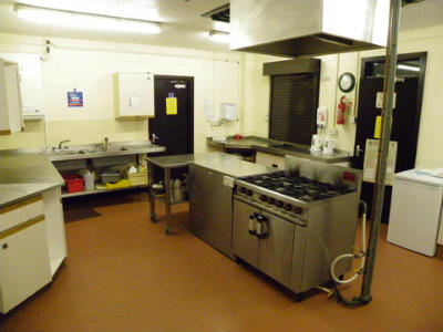 St Andrews Church Hall - inside the Kitchen