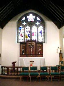 The Lady Chapel - a quiet prayerful space within the church