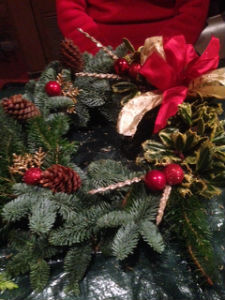 Another wreath made at our workshop