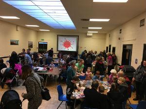 fun and games at Messy Church January 2017