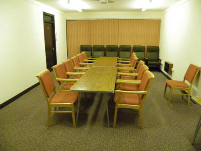 St Andrews Church Hall - inside the Weston Room