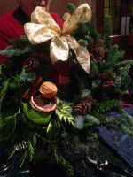 A Christmas Wreath with a different style