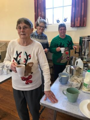 Church coffee morning Dec 2019 organised by the choir