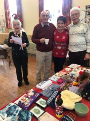 Church coffee morning Dec 2019 organised by the choir