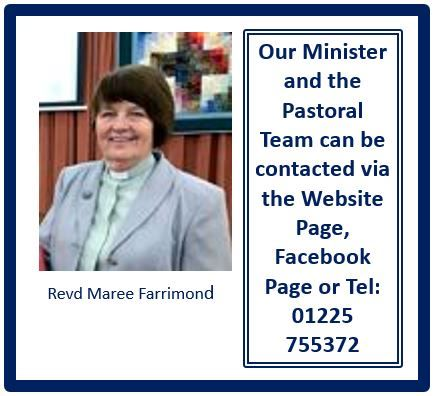 Photo of our Minister with link to Contacts