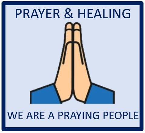 Prayer  Healing Tile