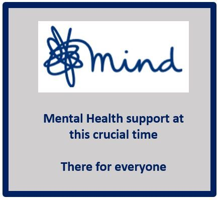 Tile with link to the Mental Health 'Mind'