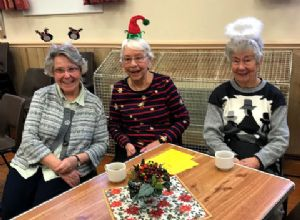 December Coffee Morning fun!