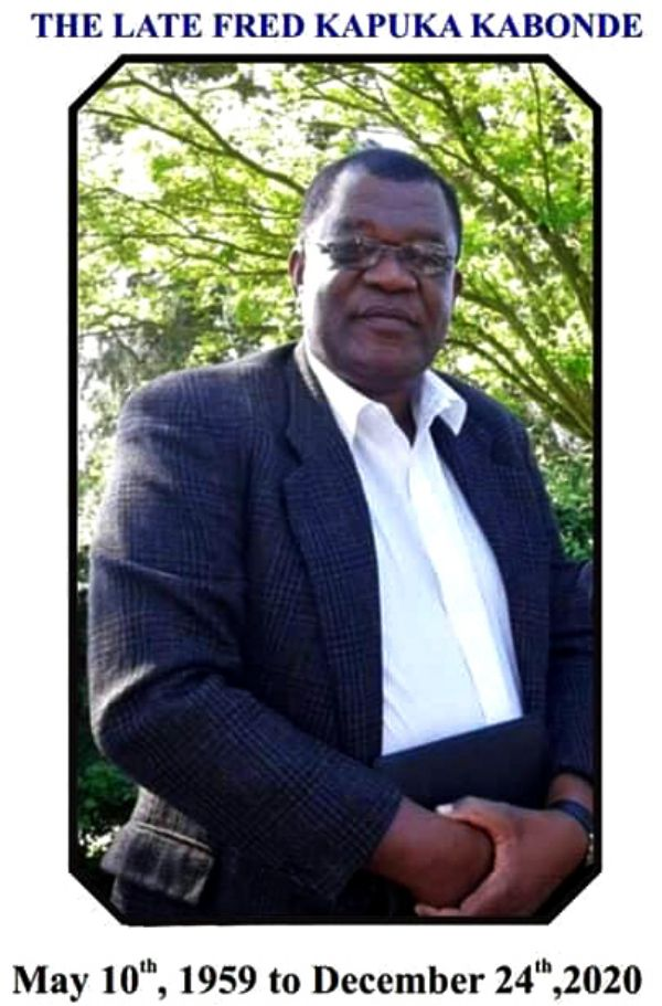 The Late Fred Kabonde