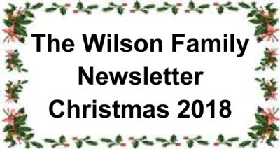 Wilson Newsletter in Holly