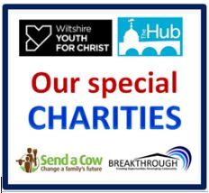 Tile with link to information about Charities we support