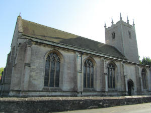 North side of Great Hale church