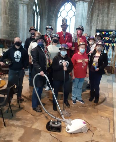 Steam Punk cleaning crew