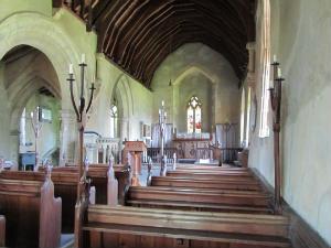 Inside Howell church