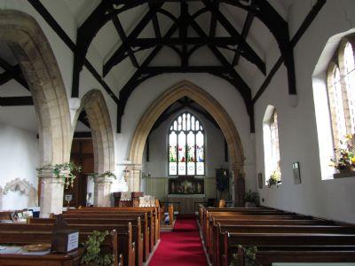 Scredington interior facing altar