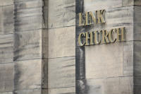 Link church straight sign