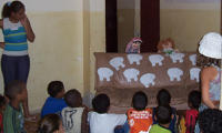 Puppets at Kids Club