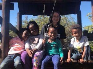 Ruth and preschoolers