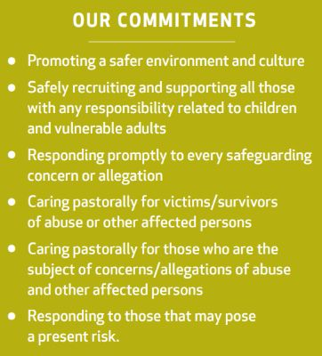 Our Safeguarding Commitments
