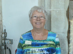 Mrs C Walker - Church Warden