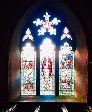 Marden stained glass window