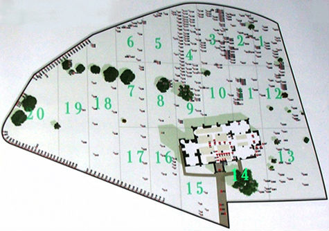 churchyard plan