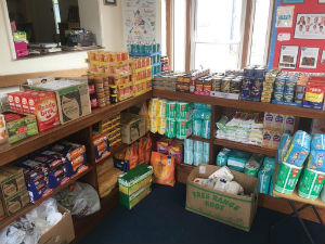 Marden Foodbank based at Marden School