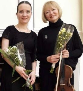 Oxana Militsana and Ecaterina Shetliffe