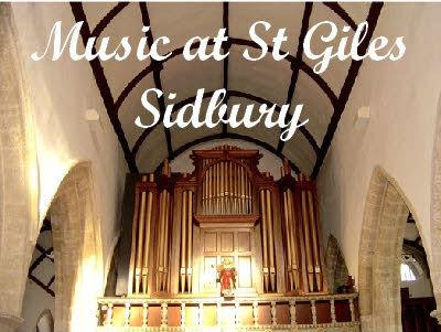 Poster for St Giles Sidbury music