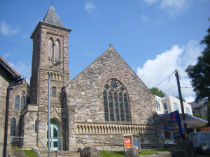 Church from outside