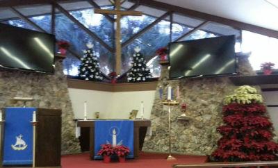 blue altar