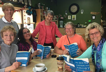 Bookworms meet the second Saturday each month