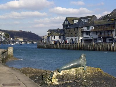 Nelson looking back at Looe