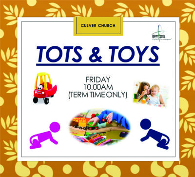 Tots & toys banner