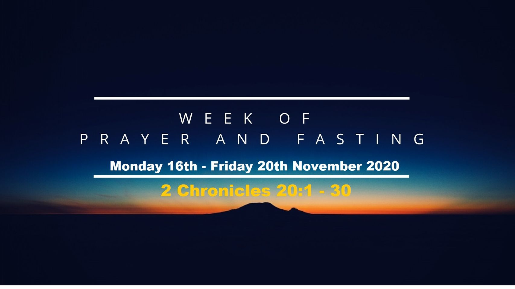 Week of Prayer