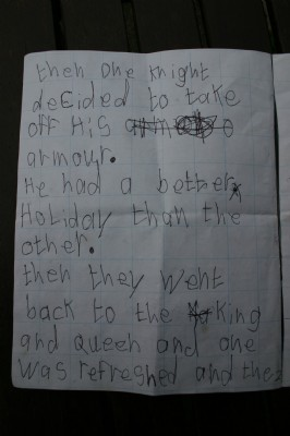 Answer by child to Ministers Childrens story