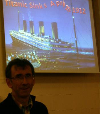 Garry Tutty, Titanic story Fahan 18-01-2013