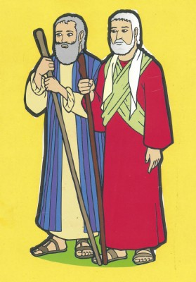 Moses and his brother Aaron