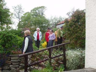 Lovely garden, Burnfoot, Co. donegal, Ireland