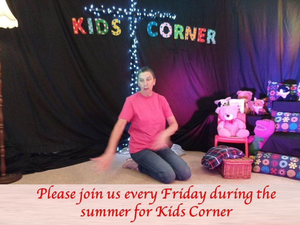 Kids Corner from Ray  Newtowncunningham Presbyterian Church