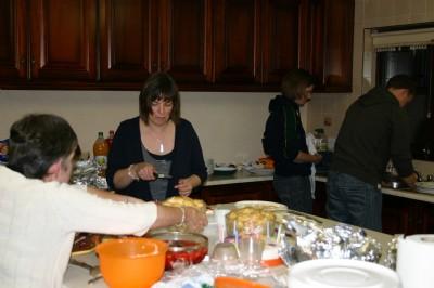 Walking Group Kitchen fun